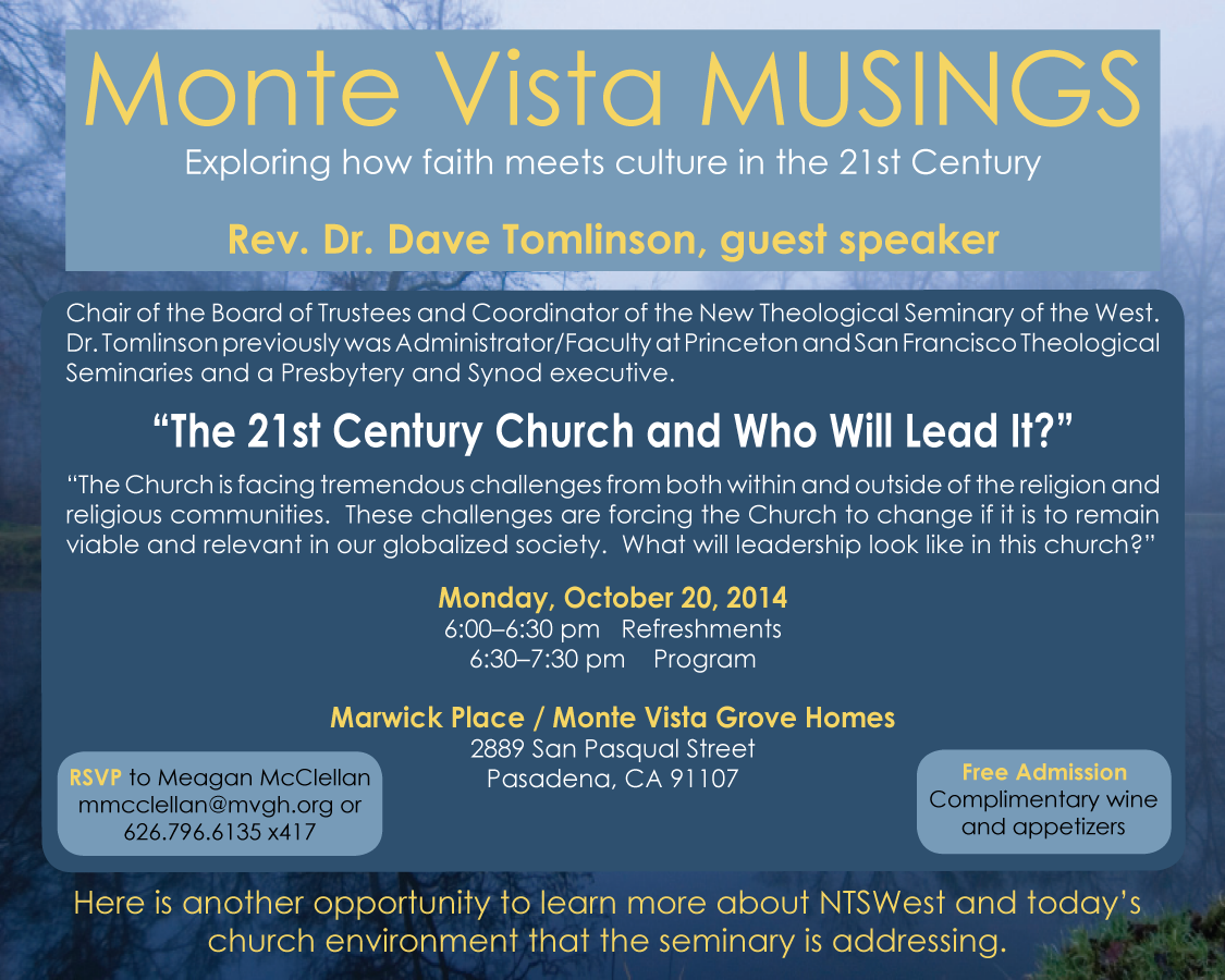 Monte Vista Musings