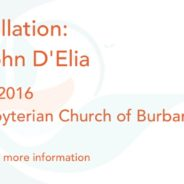 November 5, 2016 – Service of Installation: The Rev. Dr. John D'Elia
