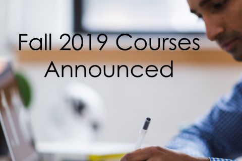 Permalink to:Fall 2019 Courses