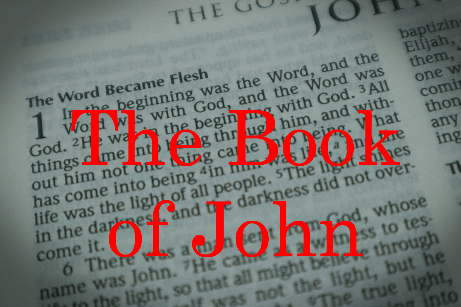 Permalink to:The Book of John