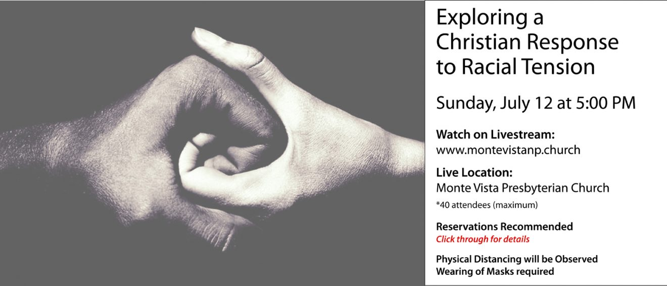 Chaos or Community? An Open Conversation on Race  Sunday, July 12
