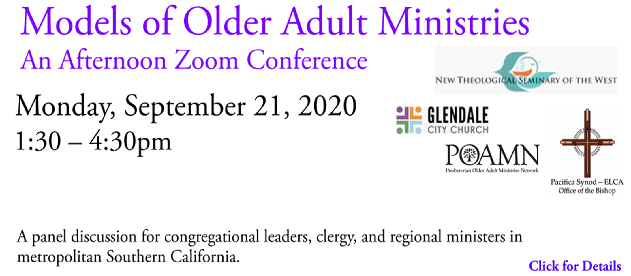 Permalink to:Spiritual Needs of Aging Congregants