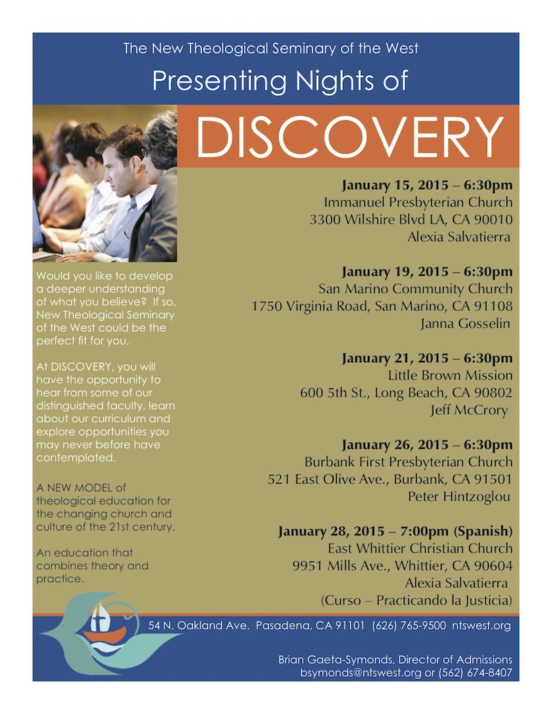 Discovery Events for January 2015